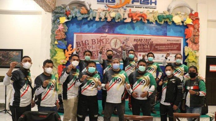 Benelli Big Bike Explore Celebes With Kalla Kars menuntaskan rute touring ke lima provinsi, Minggu (4/7/2021).