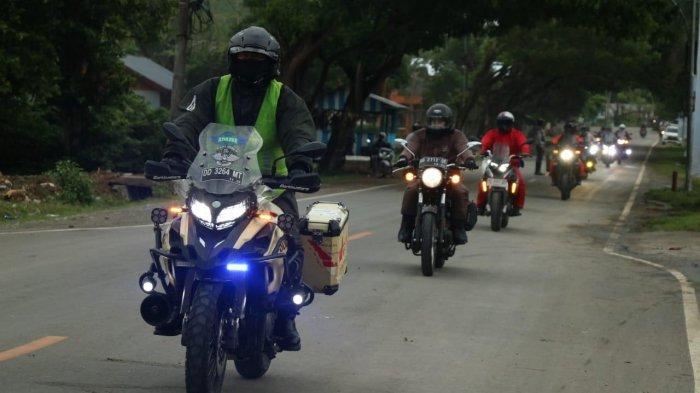 Benelli Big Bike Explore Celebes With Kalla Kars akhirnya menuntaskan rute touring lima provinsi, Minggu (4/7/2021)