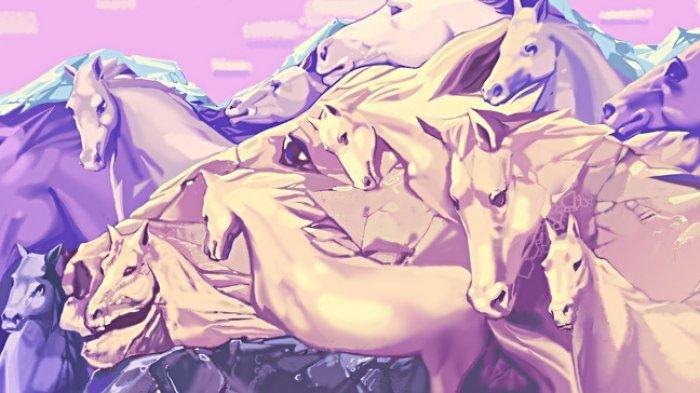 TES KEPRIBADIAN: Ada Berapa Jumlah Kuda yang Kamu Lihat? Jawabanmu Bisa Ungkap Karakter Aslimu