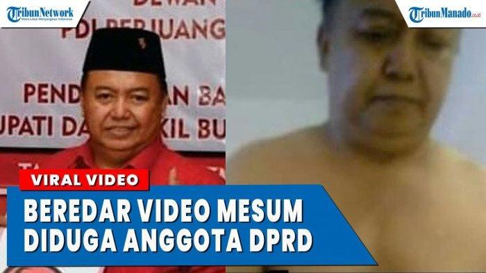 VIDEO Asusila Diduga Anggota DPRD dari PDIP
