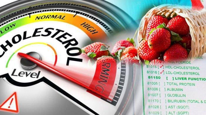 Daftar Makanan Yang Dapat Menurunkan Kadar Kolesterol, Ada Apel Anggur Stroberi, dan Jeruk