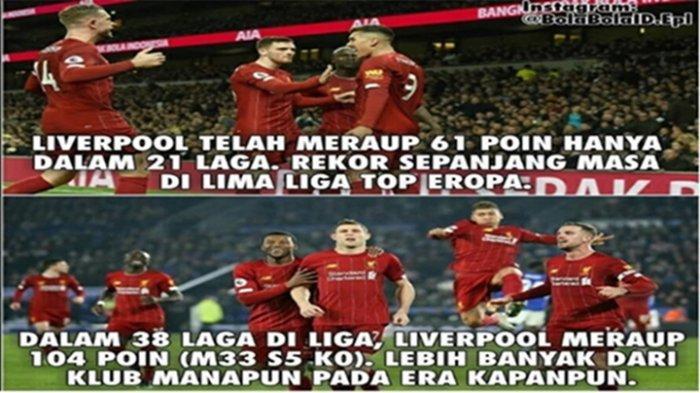 Berkat Gol Tunggal Firmino, Liverpool Catatkan 3 Rekor Sekaligus, Ini Rekornya