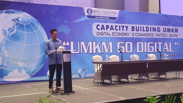 BI Sulut Pacu Ratusan Pelaku UMKM Go Digital