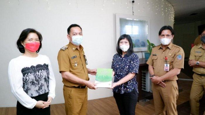Wali Kota Tomohon Caroll Senduk Terima Kunjungan Lokal Project Officer ASUS UN-HABITAT