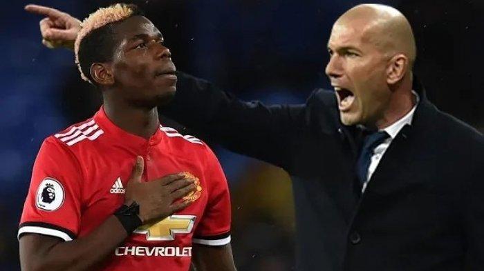 Real Madrid Minta Zinedine Zidane Lupakan Paul Pogba Demi Pemain Ini