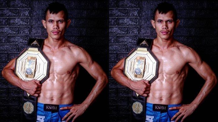 Billy Pasulatan, juara MMA Asal Minut.