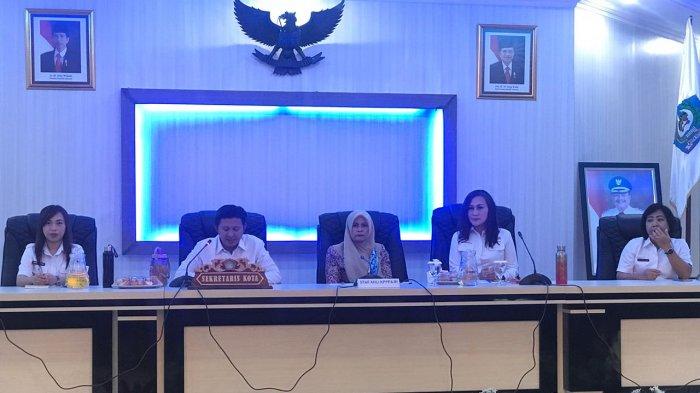 Staf Ahli Kementerian PPPA Sambangi Pemkot Bitung