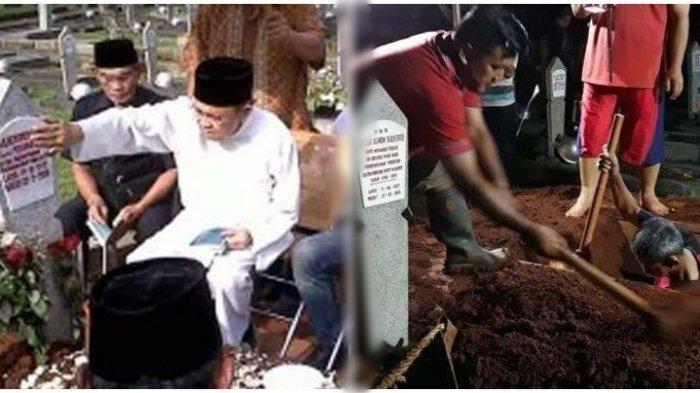 BJ Habibie Meninggal dalam Kondisi Tersenyumhingga Kesaksian Penggali Makam