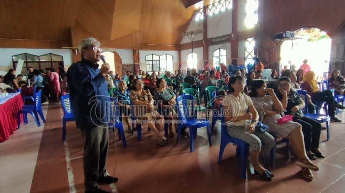 BKKBN Sulut Gelar Bakti Sosial di Paniki Dua, Adakan Pemeriksaan Iva dan Pelayanan KB Gratis