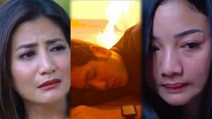 BOCORAN Ikatan Cinta Rabu 5 Mei 2021: Ricky Terbakar Bersama Rumahnya, Elsa Jujur Pada Mama Sarah