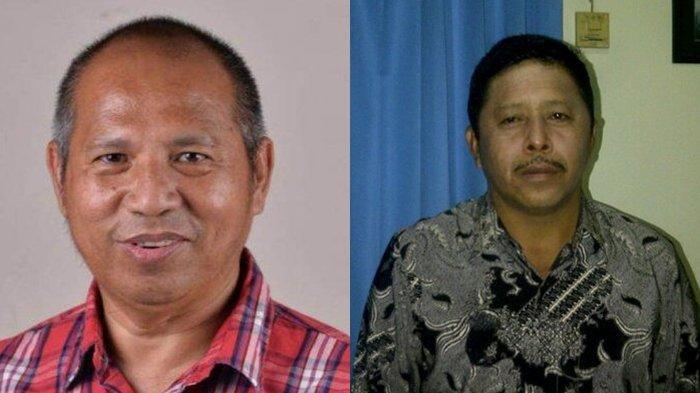Bolaang Mongondow Timur: Dr. Suhendro Boroma (kiri) dan Drs. Rusdi Gumalangit (kanan)