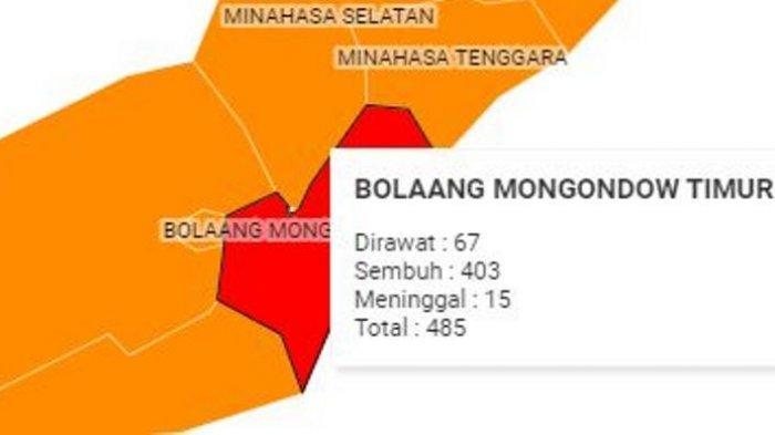 Boltim Zona Merah Covid, Bupati Sam Sachrul Mamonto Tegas: Tak Ada Satupun Pesta yang Diizinkan