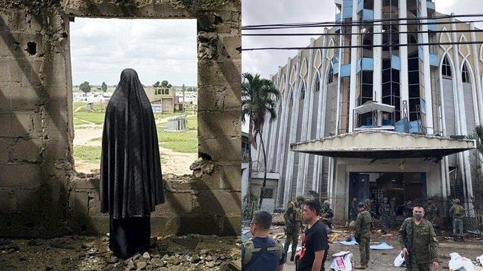 Ingat Pasutri WNI Bom Gereja di Filipina 2019? Kini Sosok Nanah Diduga Anak Mereka Melakukannya Lagi
