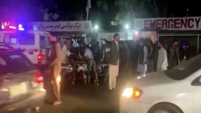 Bom Bunuh Diri di Luar Bandara Kabul-Afghanistan, Kamis 26 Agustus 2021. ISIS klaim bertanggung jawab. 11 Tentara AS tewas.