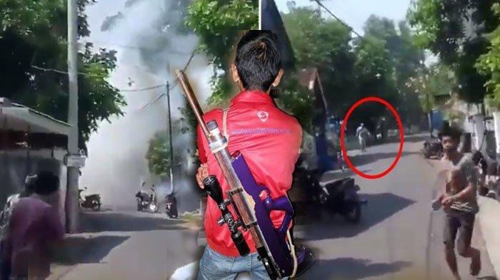 Pria Ini Sempat Tembak dengan Senapan Pelaku Bom Pasuruan, Saya Yakin Dia ke Dokter