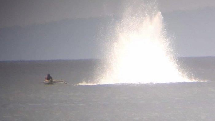 Aksi Bom Ikan Marak di Sangtombolang Bolmong, Nelayan Minta Polisi Ambil Tindakan