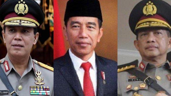 Sosok Komjen Pol Boy Rafli, Calon Kapolri Usulan Jokowi, Kariernya Melejit Seperti Tito Karnavian