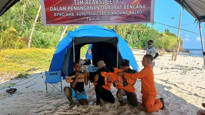 BPBD Sitaro Gelar Pelatihan Tim Reaksi Cepat Dalam Penanganan Darurat Bencana
