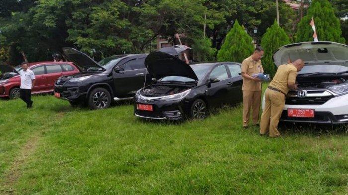 BPK Periksa Kendaraan Dinas