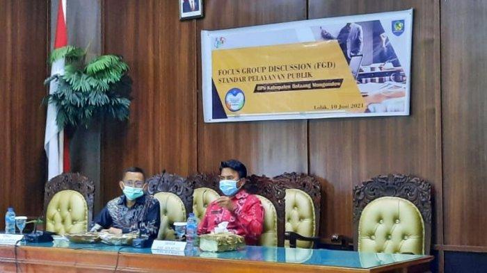 Buka FGD Bersama BPS, Sekda Bolmong Ingatkan soal Sinkronisasi Data