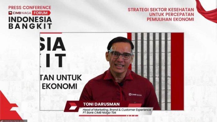 CIMB Niaga Gagas Forum Indonesia Bangkit, Bangun Optimisme Percepatan Pemulihan Ekonomi