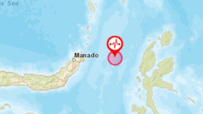 Gempa Bumi di Sulut.