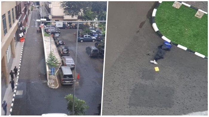 Kolase foto Orang Tak Dikenal Terobos <a href='https://manado.tribunnews.com/tag/mabes-polri' title='MabesPolri'>MabesPolri</a>, Diduga Teroris, Ditembak hingga Terkapar