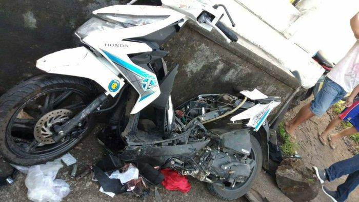 BREAKING NEWS! Tabrakan Maut di Jalan AA Maramis, Tewaskan Anggota Polda