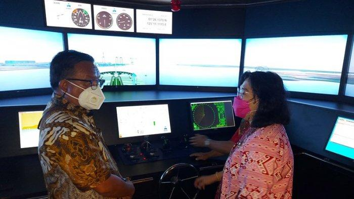 Bridge Simulator Nautika Kapal Niaga