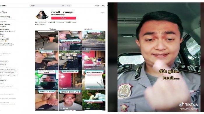 SOSOK Brigadir Rivolt Rampi Polisi Tampan yang Jadi Artis TikTok, Ternyata Dulu Seorang Youtuber