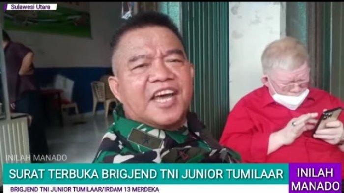 Sosok Brigjen TNI Junior Tumilaar, Surati Kapolri Karena Protes Babinsa Bela Rakyat Dipanggil Polisi