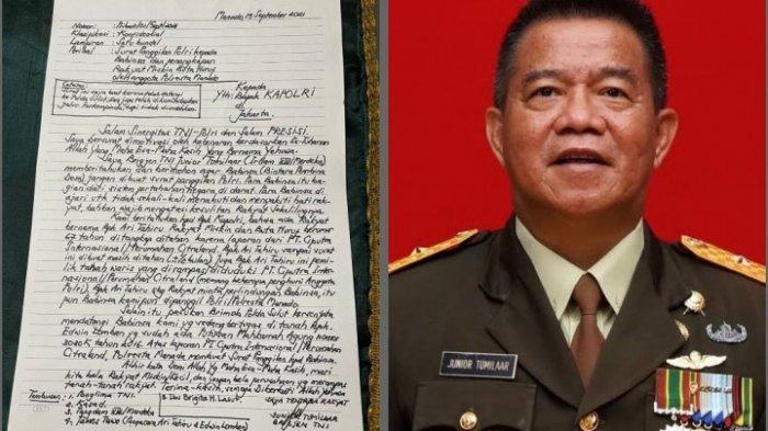Jenderal TNI Ini Dicopot dari Jabatannya Usai Surati Kapolri untuk Bela Babinsa dan Rakyat Kecil