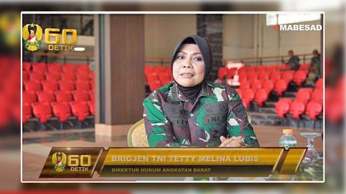 Brigjen TNI Tetty Melina Lubis, Jenderal Wanita Terlibat Pada Penempatan Tugas Aprilio Manganang