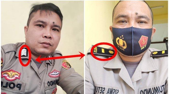HANYA Butuh 1 Tahun Bripka Jerry Tumundo Langsung Jadi Ipda, Lewati 2 Pangkat, Kapolri Turun Tangan