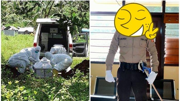 MASIH Ingat Bripka Jerry Tumundo Polisi yang Bantu Kubur Jenazah Covid? Setahun Berlalu Kini Jadi