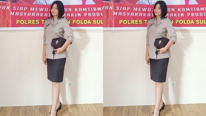 Profil Briptu Celsia Lakoy, Polwan Berparas Cantik Personil Polres Tomohon