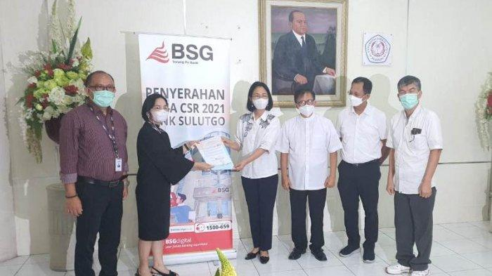 BSG Serahkan CSR Rp 2,5 M untuk Pembangunan Gereja Fungsional Kampus Unsrat
