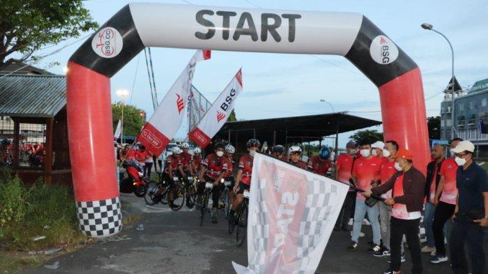 BSG Uphill Challenge 2021 Sukses, Peserta dari Sulut dan Gorontalo Taklukkan Rute 60 Km