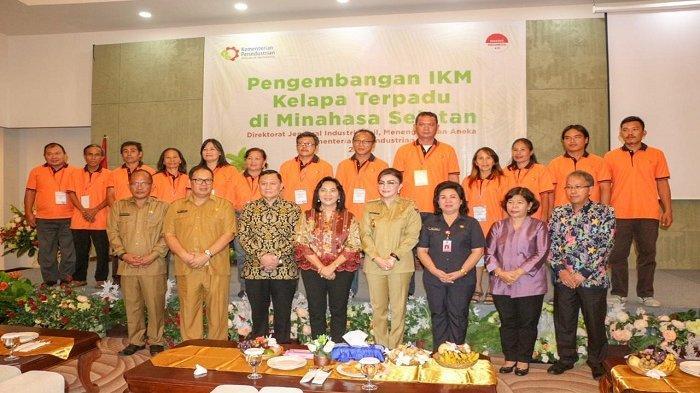 Minsel Jadi Kabupaten Pertama di Sulut Pengembangan IKM Kelapa Terpadu.
