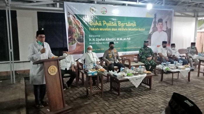 Djafar Alkatiri Ajak Umat Muslim Manado Doakan Indonesia