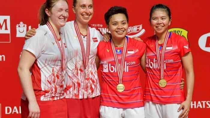 Jadwal Siaran Langsung Thailand Open: Indonesia Sisakan 3 Wakil, Tanpa Sektor Tunggal, Live TVRI