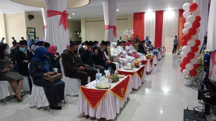Pemkab Boltim Beri Bantuan Pembangunan Mesjid Al Ikhlas Purworejo Timur