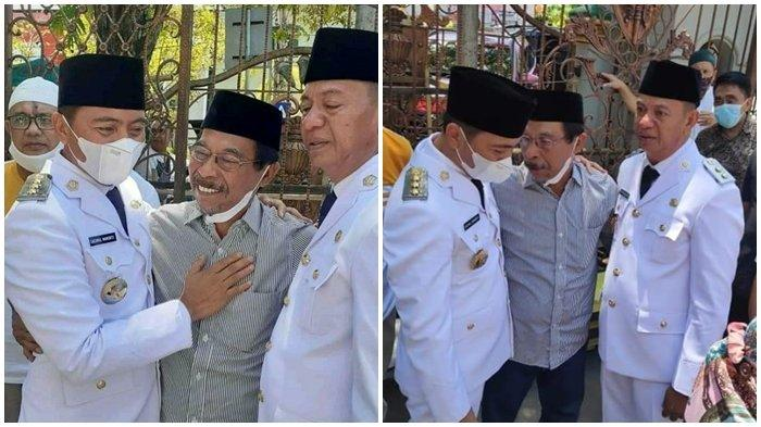 Bupati Boltim dan Wakilnya Bertemu Eyang di Masjid Raya Ahmad Yani, Momen Emosional Terjadi