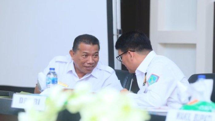 Bupati Bolmut Depri Pontoh Terima Kunker  Anggota DPD RI