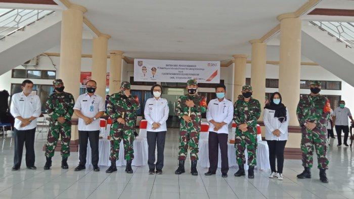 Bupati Yasti Soepredjo MokoagowUcapkan Selamat HUT TNI, Sediakan Lahan Untuk Korem