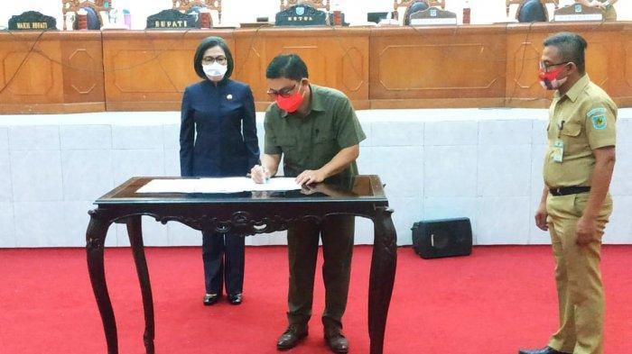 DPRD dan Pemkab Bolmong Sepakati KUA-PPAS APBD Bolmong Tahun Anggaran 2021