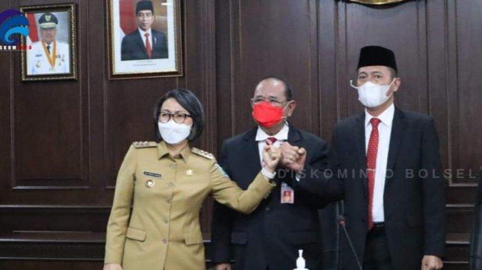 Soal Tapal Batas Bolmong-Bolsel, Gubernur Sulut Segera Pertemukan Yasti dan Iskandar