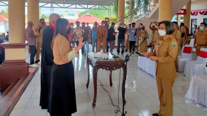 170 Anggota BPD dari 3 Kecamatan di Bolmong Resmi Dilantik