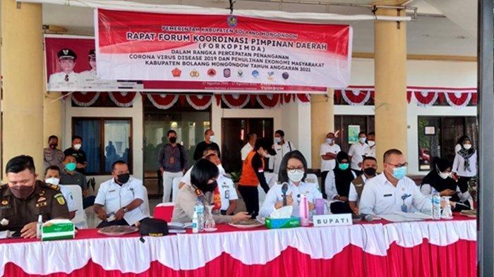 Bolmong PPKM Level 4, Bupati Minta Semua Kepala Desa dan Camat Berperan Aktif