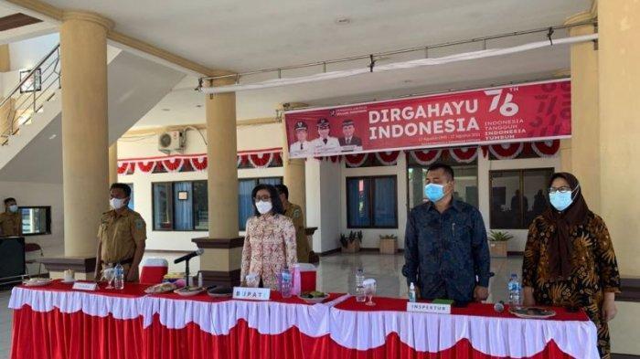 Bupati Bolmong Yasti Soepredjo Mokoagow Ikuti Rakorwasdanas Bareng KPK dan Kemendagri